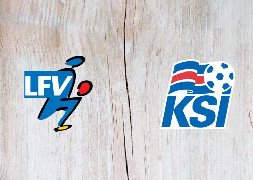 Liechtenstein vs Iceland -Highlights 31 March 2021
