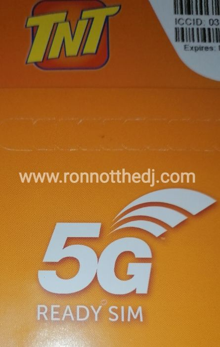 Tnt 5g Sim Card Unpacking First Look