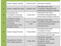 KSN SMP Tingkat Kabupaten Tanggal 28 Maret 2020