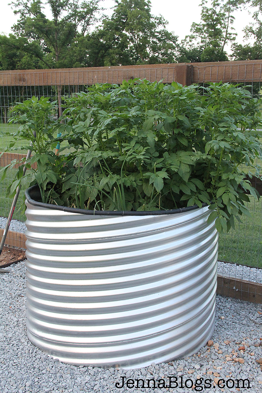 Jenna Blogs How To Make A Culvert Garden Planter