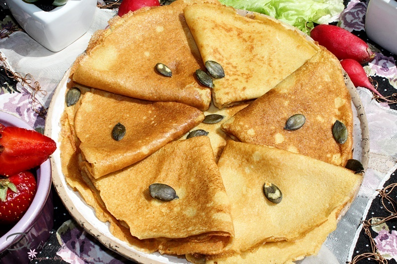 Uniwersalne naleśniki z mąki amarantusowej