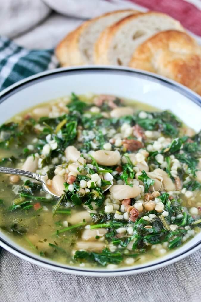 Sardinian Herb Soup (S'erbuzzu)
