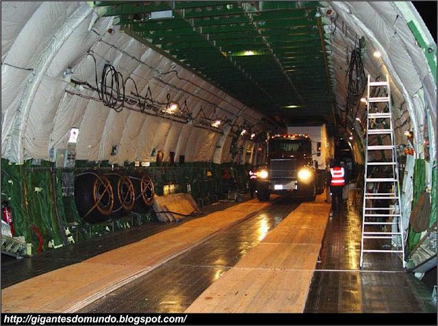Interior do Antonov An-225