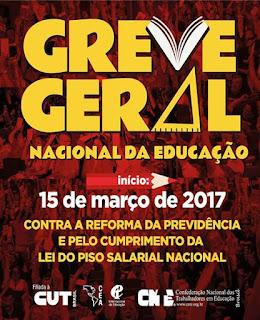 GREVE GERAL NACIONAL DA EDUCAÇÃO