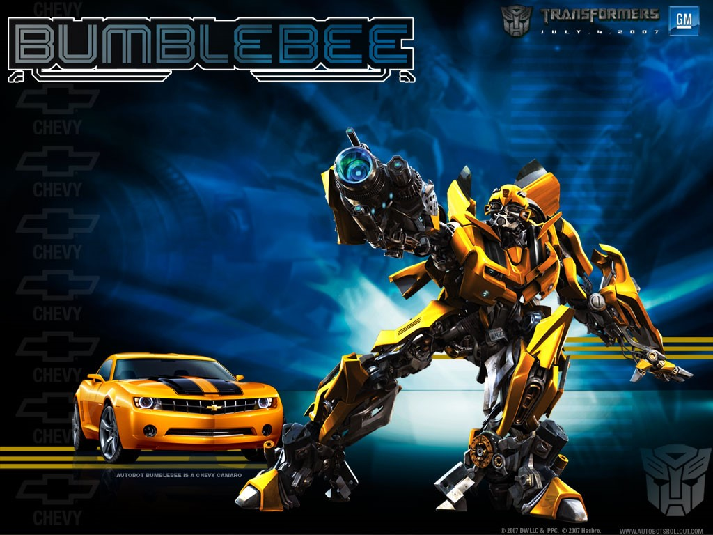Excuse my typos ten things i liked about transformers 3 - Bumblebee desktop wallpapers ...