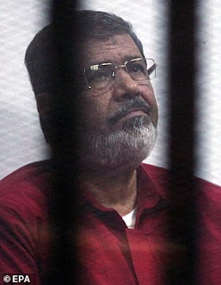 Former Egypt's president, Mohamed Morsi dies after collapsing in court during espionage trial