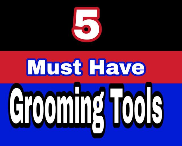 5 ग्रूमिंग टूल्स जो आपके पास होने चाहिए | 5 MUST HAVE GRROMING TOOLS FOR MEN