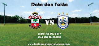 Data dan Fakta Fantasy Premier League Southampton vs Hudderrsfield Fantasi Manager Indonesia