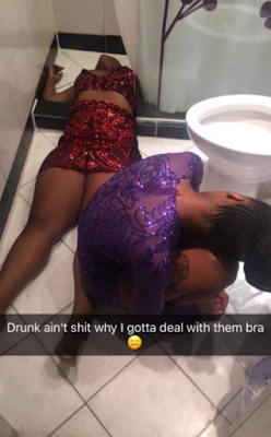 Snap Shots Of Ladies Who Partied So Hard They Ended Up Passing Out
