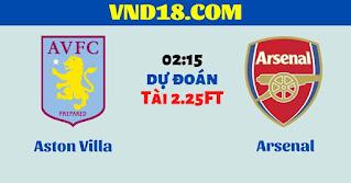 Nhận định Aston Villa vs Arsenal (02h15 ngày 22/7): Chiến đấu để trụ hạng