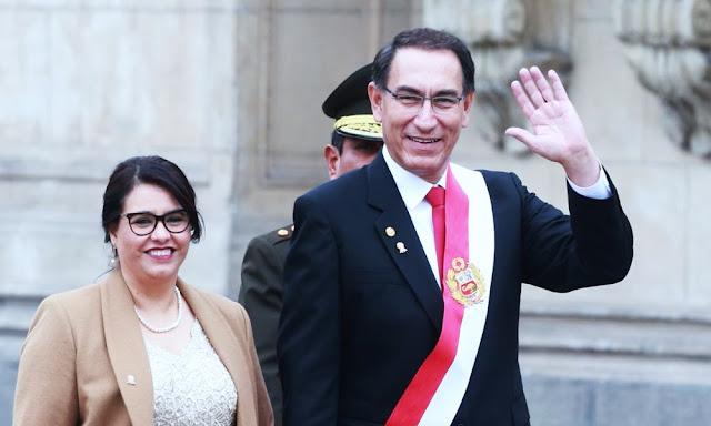 Presidente Vizcarra desea a los peruanos una feliz Navidad