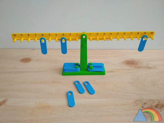 Balanza matemática pequeña EDX