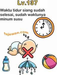 Waktu Tidur Siang Sudah Selesai Sudah Waktunya Minum Susu Jawaban Brain Out di Peringkat 137