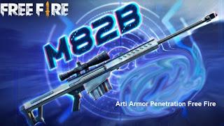 Arti Armor Penetration Free Fire