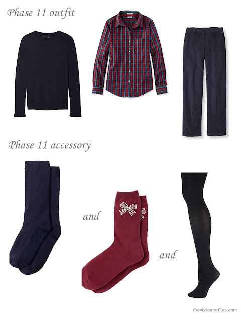 adding hosiery to a capsule wardrobe
