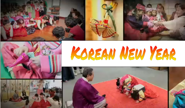 Korean Lunar New Year Celebration