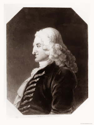 Henry Fielding by William Hogarth