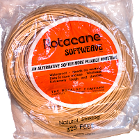 rotacane softweave plastic basket cane