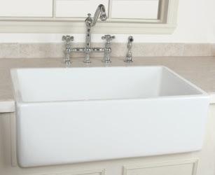Randolph Morris Fireclay Sink