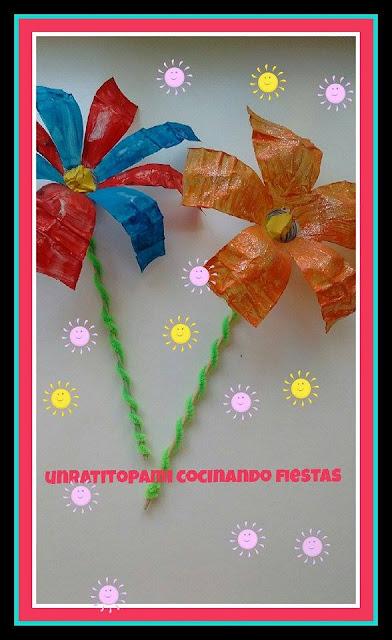 flores-botellas-plastico-pintadas-manualidades