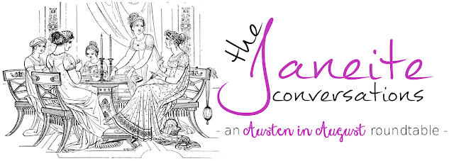 Jane Austen, Austen in August, Austenesque, JAFF, jane austen fanfiction, Austen variations, jane austen interview, The Book Rat, BookRatMisty