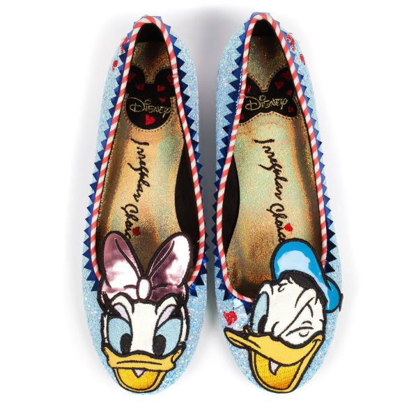 irregular choice disney donald daisy duck woah shoes