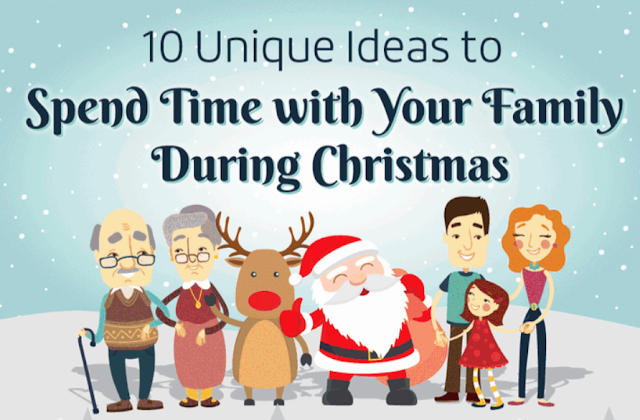10 Unique Ideas for a Holiday With Your Family #infographic