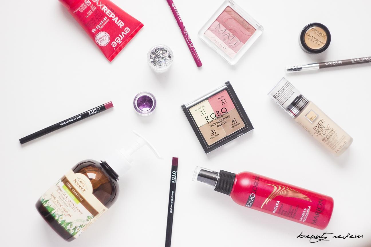 kobo, catrive,marion, evree, green pharmacy, nowości kosmetyczne, blog, blogger