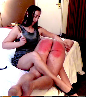 Professional Disciplinarian spanking naughty rascal