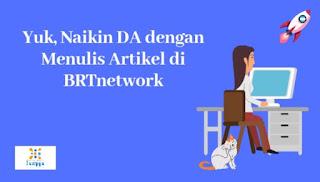 Nulis di BRTnetwork