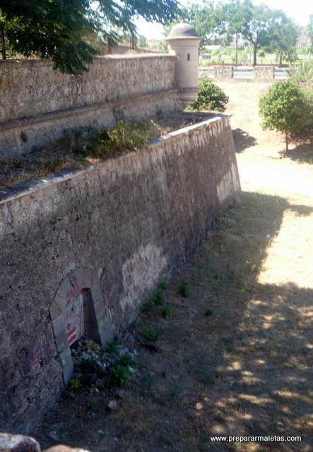ciudad amurallada de Badajoz
