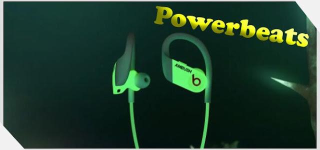 Beats تطلق سماعات Powerbeats التي تتوهج في الظلام