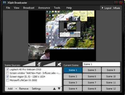 XSplit Broadcaster 2.7