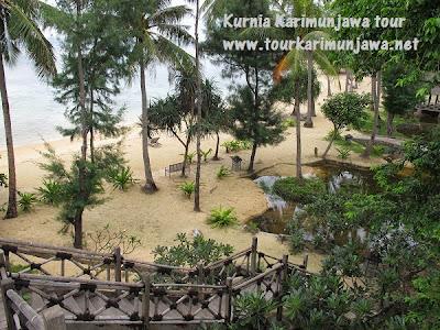 pemandangan pantai hotel nirwana