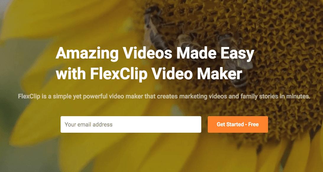 مراجعة أفضل موقع لصنع مقاطع فيديو بدون برامج مجانا flexclip.com مع العديد من المميزات