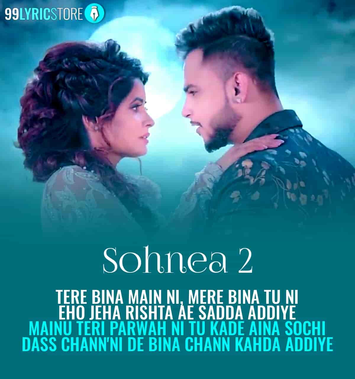 Sohnea 2 Punjabi song sung by Millind Gaba and Miss Pooja