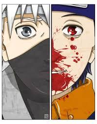 Obito y Kakashi
