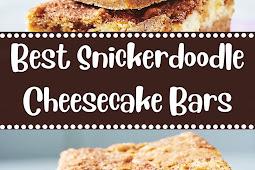 Best Snickerdoodle Cheesecake Bars