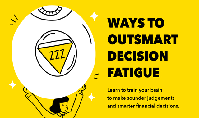 8 Tips to Avoid Decision Fatigue #infographic