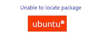 Unable to locate package ubuntu