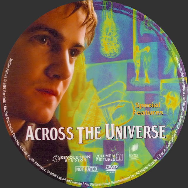 Across The Universe DVD Label