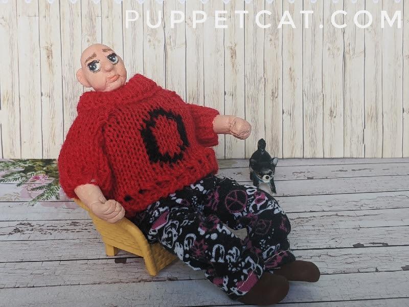 мастер-класс кукла на проволочном каркасе
