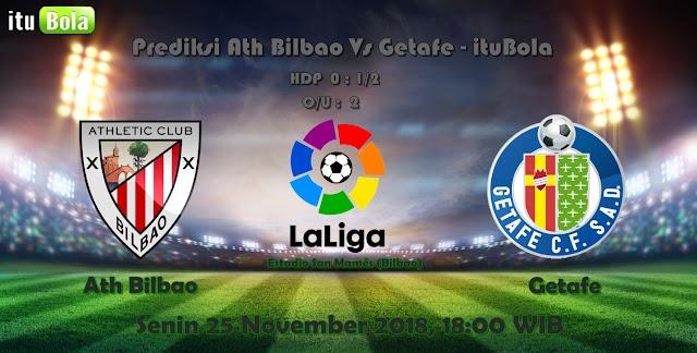 Prediksi Ath Bilbao Vs Getafe - ituBola