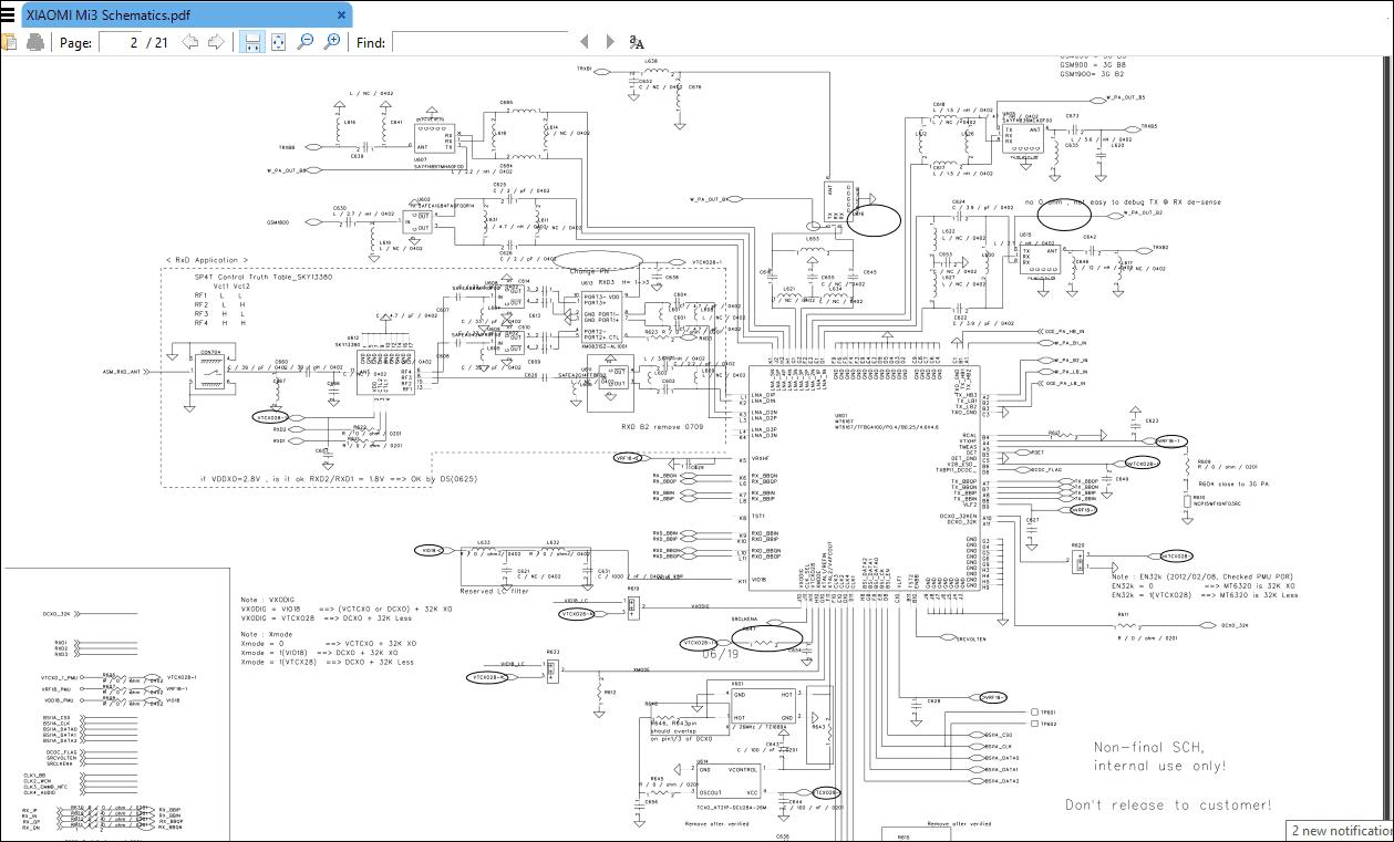 [31+] Mi Y2 Schematic Diagram Pdf Download