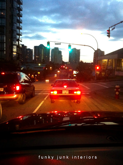 Traffic photo via Funky Junk Interiors