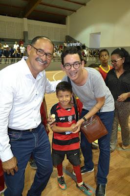 Vereadores de Barreiras participam da reinauguração do Ginásio de Esportes Baltazarino Araújo Andrade