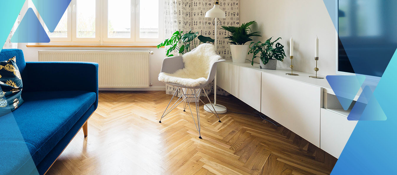lantai kayu ala scandinavian