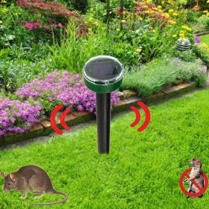 Pengusir Tikus Ultrasonic Solar Power untuk Kebun Taman