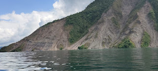 Tambang Batu di Lereng Perbukitan Danau Toba Desa Horsik Ajibata Terus Menjadi-jadi