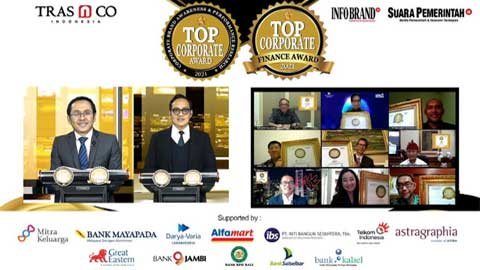 Top Corporate Award dan TOP Corporate Finance Award 2021